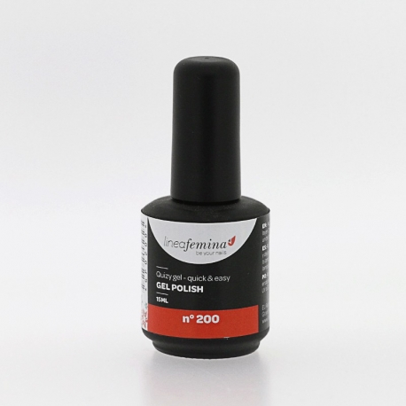 Vernis Permanent N°200 Rouge-Orange