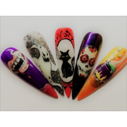Formation Nail Art Halloween