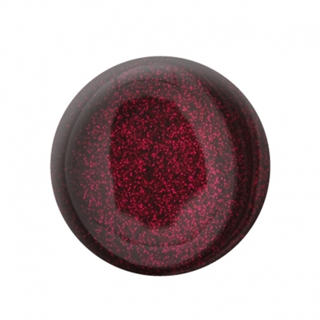 Gel Color Uv N°0350 Glitter Red Ruby