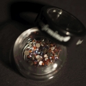 Swarovski Strass Topaz Ab Medium 9 - 72Pcs