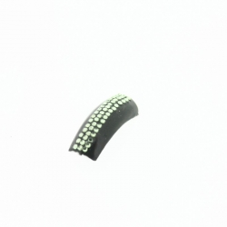 Swarovski Strass Medium Luminus Green - 72Pcs
