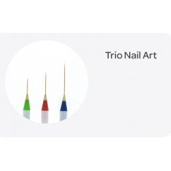 Set De 3 Pinceaux Nail Art