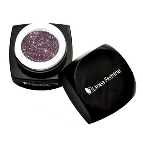 Gel Color Uv N°0491 Glitter Violette 5Ml