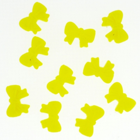 Noeud Jaune Cocarde 10 Pieces