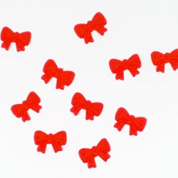 Noeud Rouge Cocarde 10 Pieces