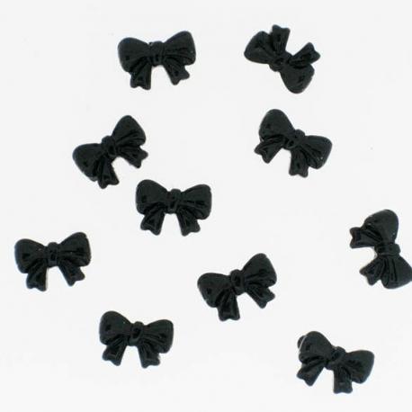 Noeud Noir Cocarde 10 Pieces
