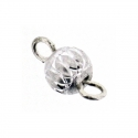 Piercing DOngle Aluminium Argent 1Pc/Sachet