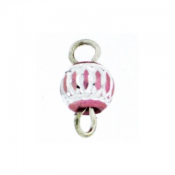 Piercing DOngle Aluminium Rose 1Pc/Sachet