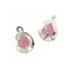 Piercing Boule Speciale Argent/Rose 2Pcs/Sachet