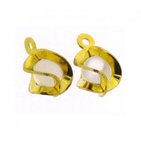 Piercing Boule Speciale Or/Blanc 2Pcs/Sachet