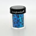 Nail Art Foil Indigo Leopard