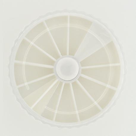Carrousel Vide Blanc