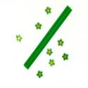 Barre Fimo Fleur Verte