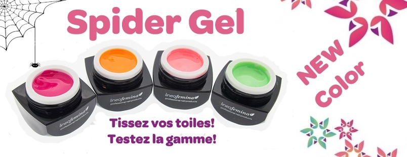 collection Spider gel uv Couler